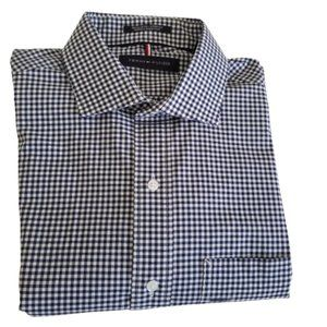 Tommy Hilfiger Shirt Gingham Button Down NWT